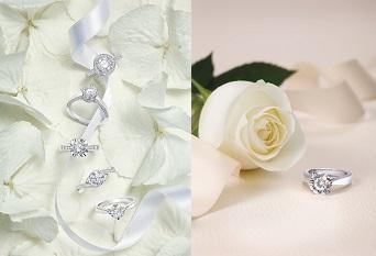 印證不渝的盟誓  謝瑞麟求婚鑽石戒指