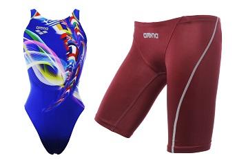 揉合日本頂尖技術 發揮專業泳手的最佳表現