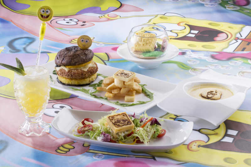 Ocean Park Summer Splash 2016 -SpongeBob SquarePants Summer Fiesta Menu
