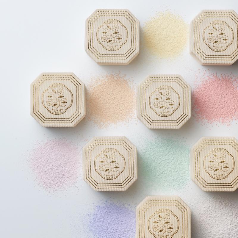 資生堂百年限量復刻七色蜜粉 向經典致敬