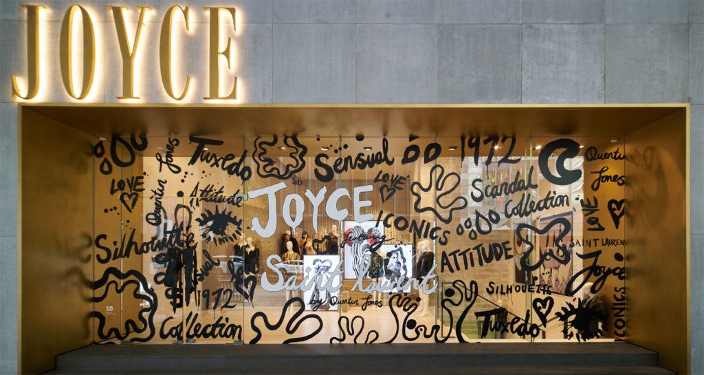 JOYCE Central Window Display