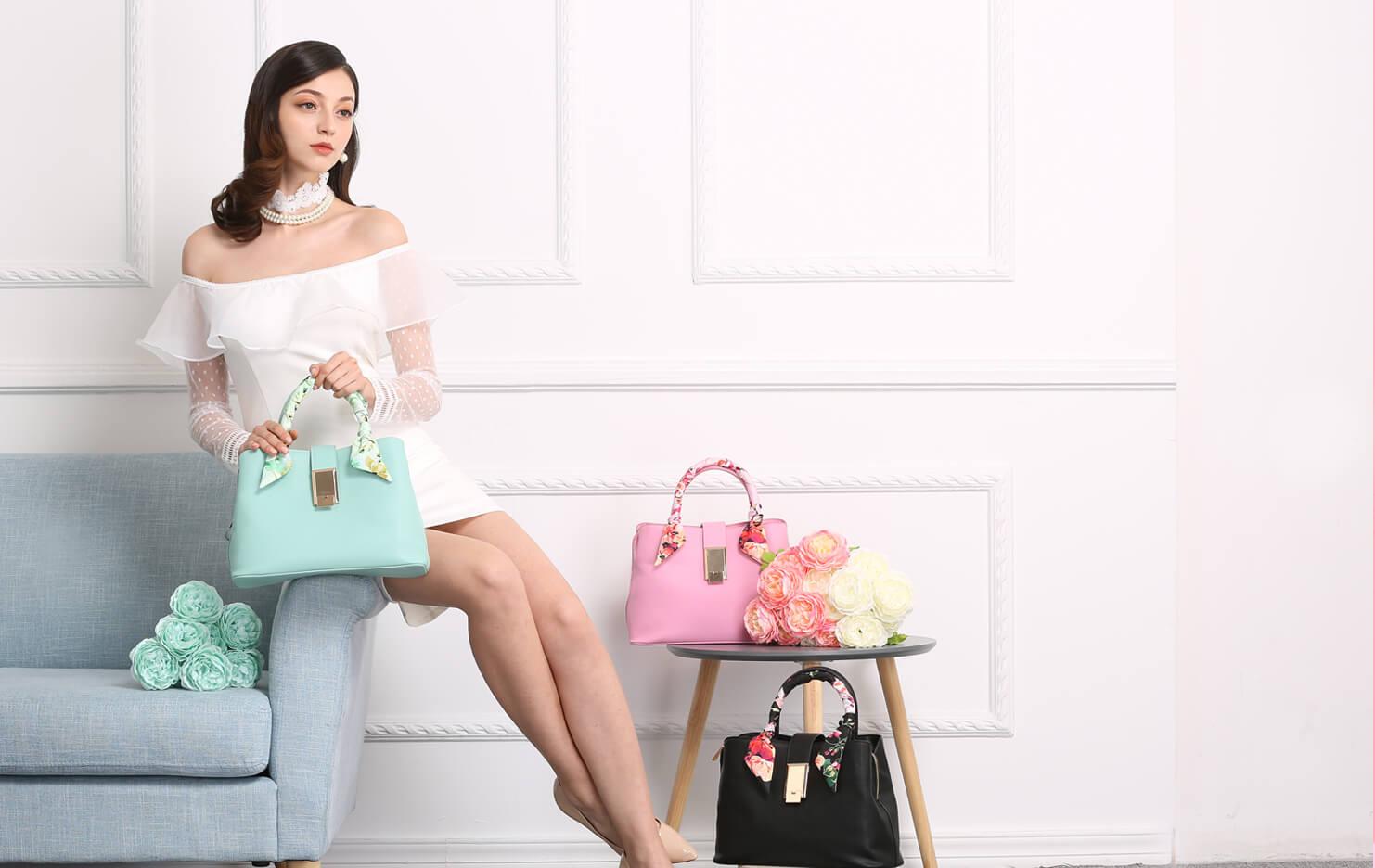 2017年夏季手袋潮流 Fancy Rosy花花刺繡為妳的穿搭錦上添花!