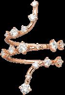 18K金鈦鑽石戒指
