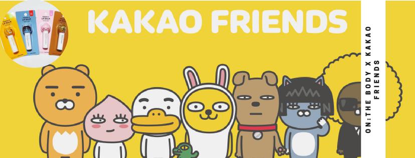 【韓風萌爆】KAKAO FRIENDS 可愛唇膜 面膜 仲有面頰膜!?